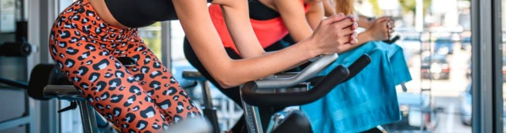 Stationary bikes are designed for cardiovascular training