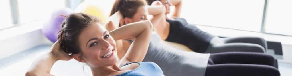 What classes are offered in women's gyms