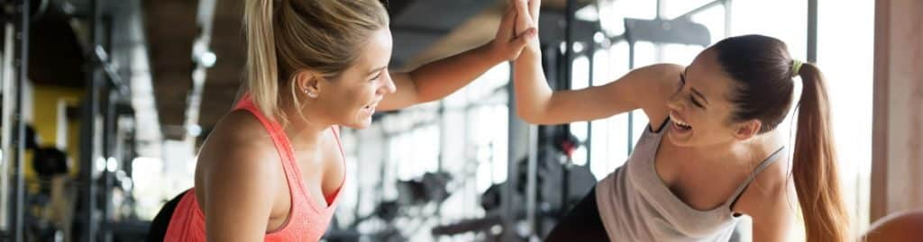 Women's only gyms allow members to work out together in a comfortable, positive atmosphere